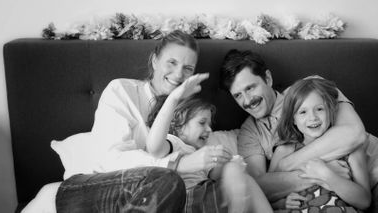 Goop's creative director with family balancing work 和 family life