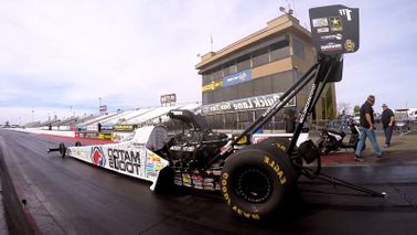 Matco Tools Drag Racing Car of Antron Brown