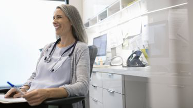 Doctor considers whether she needs disability overhead expense insurance for her business.